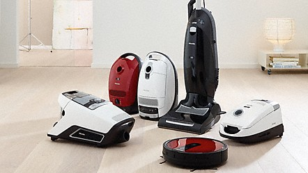 Different Types Of Miele Vacuum Cleaners