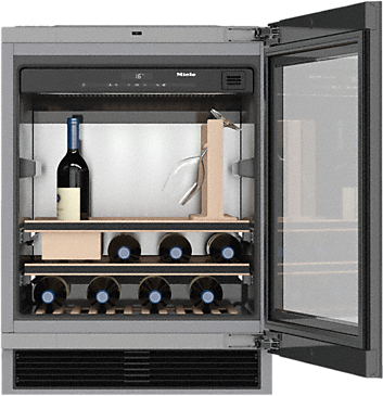 KWT 6312 UGS - Built-under wine conditioning unit for perfect enjoyment and timeless design with its Push2open and SommelierSet.--NO_COLOR