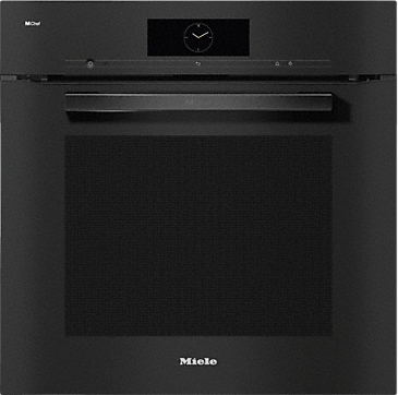 DO 7860 - Dialog oven - from designer-level kitchen to star rated kitchen.--Obsidian black